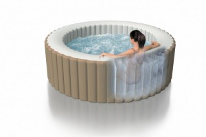 Intex Pure Spa gonflable vue 3D