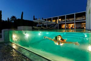 Concours plus belle piscine de nuit 2013