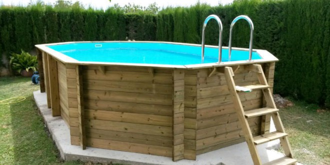 Piscine autoport e reglementation for Piscine hors sol bois