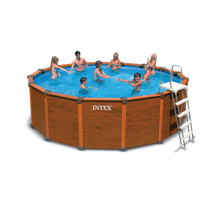 Avantages et inconv nients d une piscine hors sol bois for Piscine miroir inconvenient